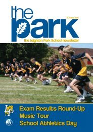 Exam Results Round-Up Music Tour School Athletics Day