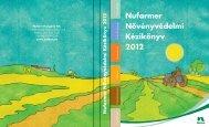 Nufarmer Növényvédelmi Kézikönyv 2012
