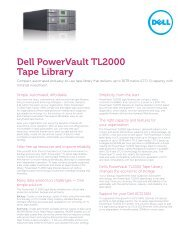 Powervault Tl4000 Dedicated Cleaning Slot