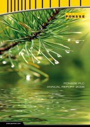 Annual Report 2008 In English - Ponsse