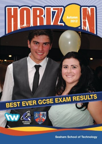 BEST EVER GCSE EXAM RESULTS - Seaham School of Technology