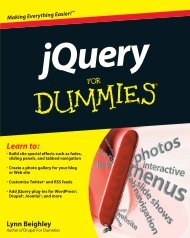jQuery for Dummies - A2Z Dotnet