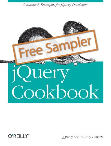 jQuery Cookbook - Cdn.oreilly.com - O'Reilly