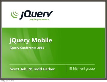 jQuery Mobile - Filament Group