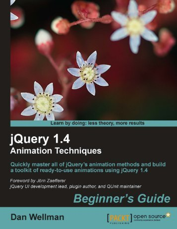 jQuery 1.4 Animation Techniques - Index of