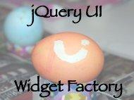 jQuery UI Widget Factory