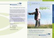 apotic Broschüre - tic Medizintechnik