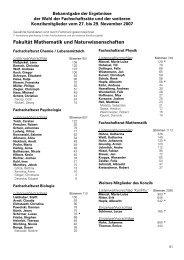 Fakultät Mathematik und Naturwissenschaften - Verw.tu-dresden.de