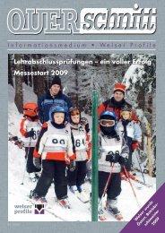 Lehrabschlussprüfungen – ein voller Erfolg ... - Welser Profile AG