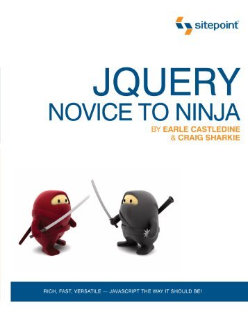 jQuery: Novice to Ninja - The Girls' Got Soul is Jess Moore.
