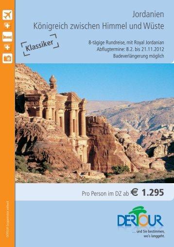 Angebot als PDF (460 KB) - Reisebüro Touristic-Center