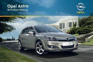 Handbuch - Opel