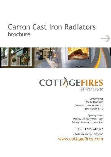 Carron Cast Iron Radiators - Cottage Fires of Wentworth
