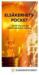 ElsäkErhEts- pockEt - Elsäkerhetsverket