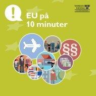 EU på 10 minuter - EU-upplysningen