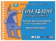 3°LibrettoFilmFestivalKurdo2010 - Europa levante