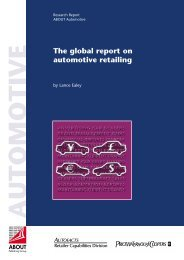 The global report on automotive retailing - ABOUT Publishing Group ...