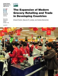 Expansion of Modern Grocery Retailing and Trade in - Economic ...