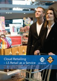 Cloud Retailing – LS Retail as a Service - BDO Solutions