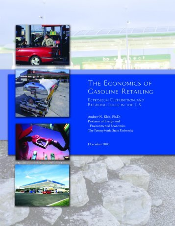 [PDF] API Economics of Gas Retailing - American Petroleum Institute