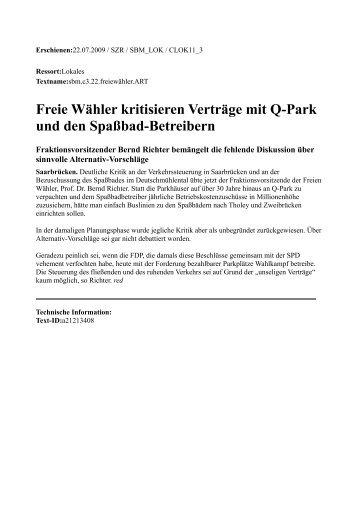 KW 30-3 - FW/FWG Freie Wähler Landesverband e.V.