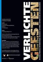 Folder Verlichte Geesten - Historisch Centrum Overijssel