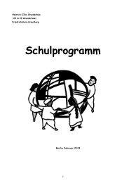 Schulprogramm als pdf - Heinrich-Zille-Grundschule