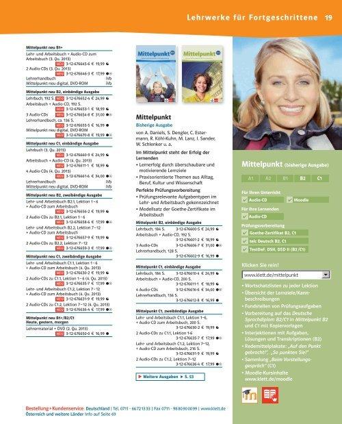mittelpunkt neu b2 lehrbuch pdf