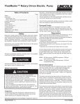 FlowMaster™ Rotary Driven Electric Pump - Lincoln Industrial - Page 2