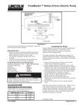 FlowMaster™ Rotary Driven Electric Pump - Lincoln Industrial - Page 3