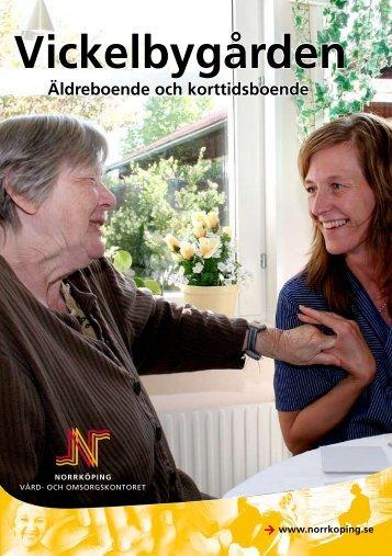 Broschyr Vickelbygården - Norrköpings kommun