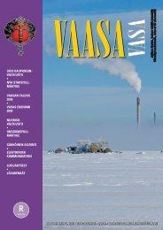 Kaupungin tiedotuslehti 1/2009 - Vaasa
