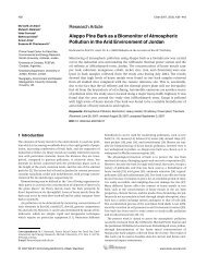 Aleppo Pine Bark as a Biomonitor of Atmospheric Pollution in the ...