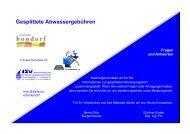 Informationsbröschüre mit Fragen und Antworten - Bondorf