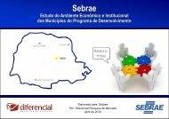 Sebrae - Análise do Município de Imbaú - Relatório