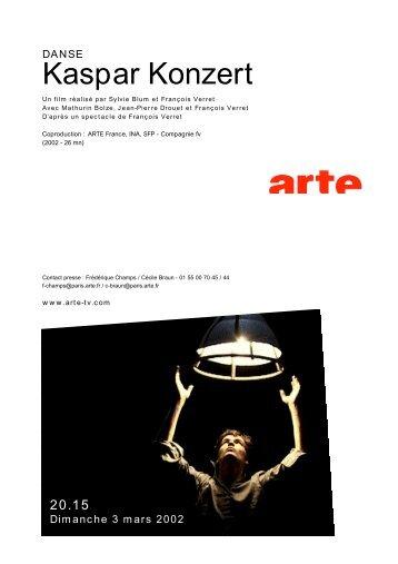 Kaspar Konzert - Arte