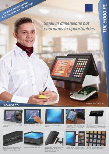 TDC-5000 PC - Leaflet - Elcom