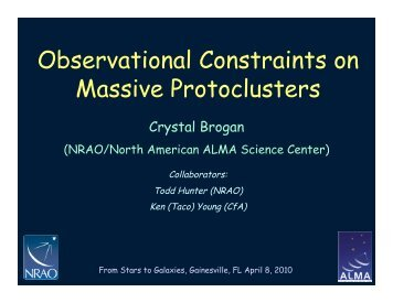 Observational Constraints on Massive Protoclusters