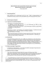Muster-Schulbau-Richtlinie - MSchulbauR - Bauordnungen