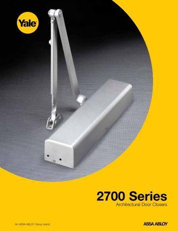 2700 Series - ASSA ABLOY Door Security Solutions :: Extranet