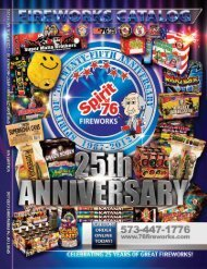 Click here to download our fireworks catalog. - Spirit of 76 ...