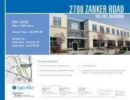2700 ZANKER ROAD - Cassidy Turley Northern California