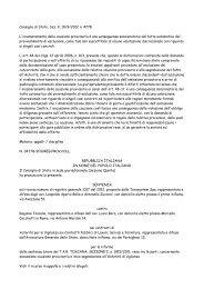 Consiglio di Stato, Sez. V, sentenza 10.09.2012 n ... - Franco Crisafi