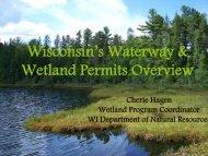 Wisconsin's Waterway & Wetland Permits Overview