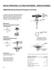 2600/2700 Series General Purpose 1/4-Turns. QUICK ... - Alcoa