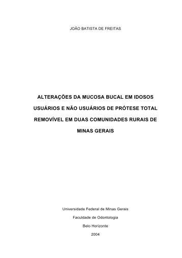 SUMRIO - Biblioteca Digital de Teses e Dissertações da UFMG