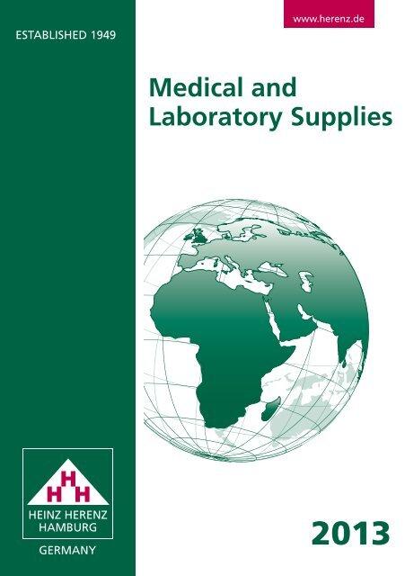 Catalogue 2013 - Heinz Herenz Medizinalbedarf GmbH