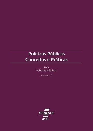 Políticas Públicas Conceitos e Práticas - Ministério Público do ...