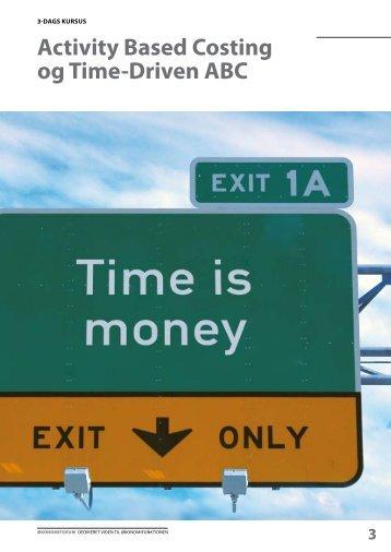 Activity Based Costing og Time-Driven ABC - Økonomiforum