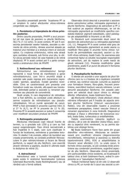 Interior 2_2005.qxd - Oftalmologia.ro